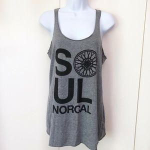 Soul Cycle Norcal Womens Tank Top Medium Sleeveles